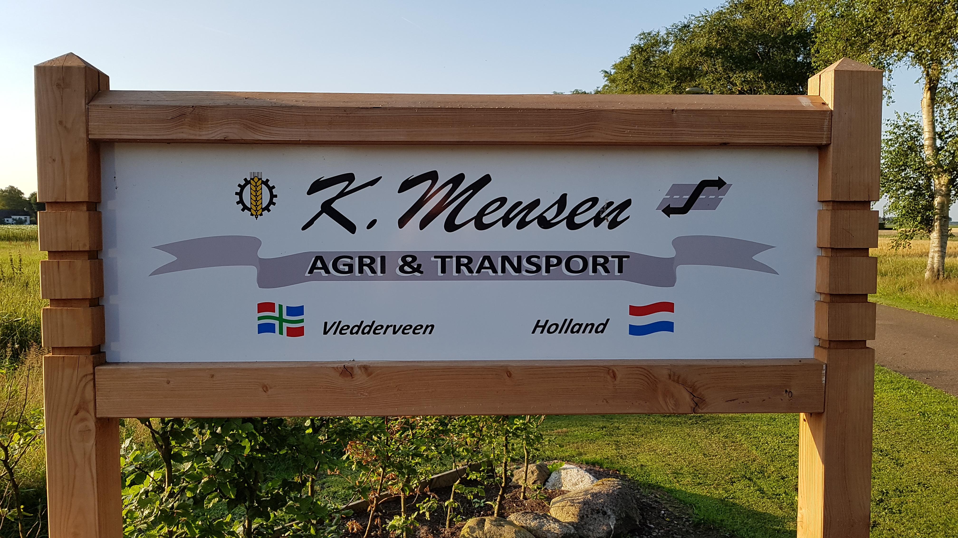Contactgegevens K.Mensen Agri en Transort